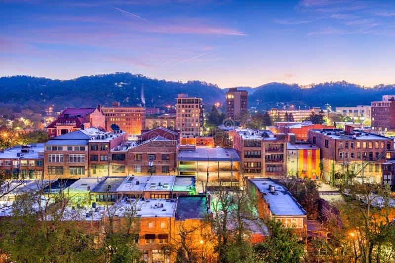 Asheville, Северная Каролина, США стоковое изображение