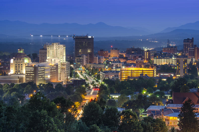 Asheville photographie stock