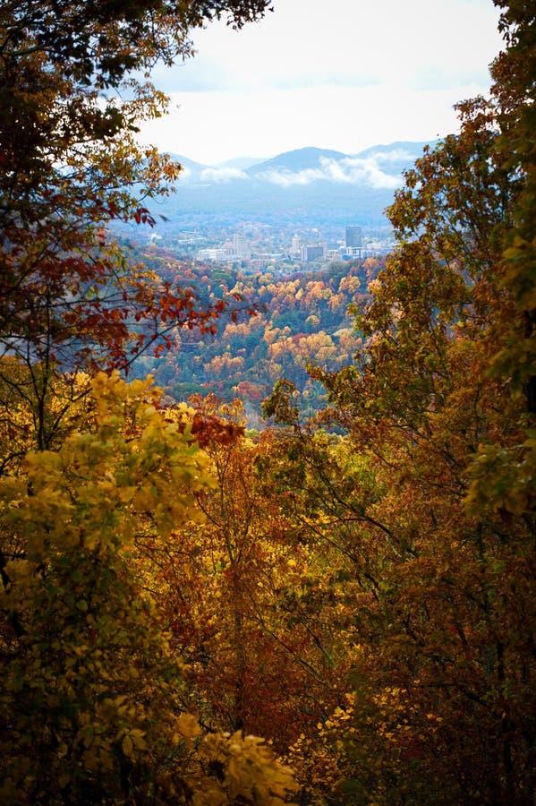 Asheville la Caroline du Nord images stock