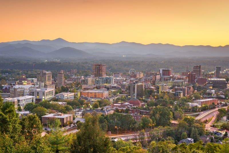 Asheville, la Caroline du Nord, Etats-Unis photo libre de droits