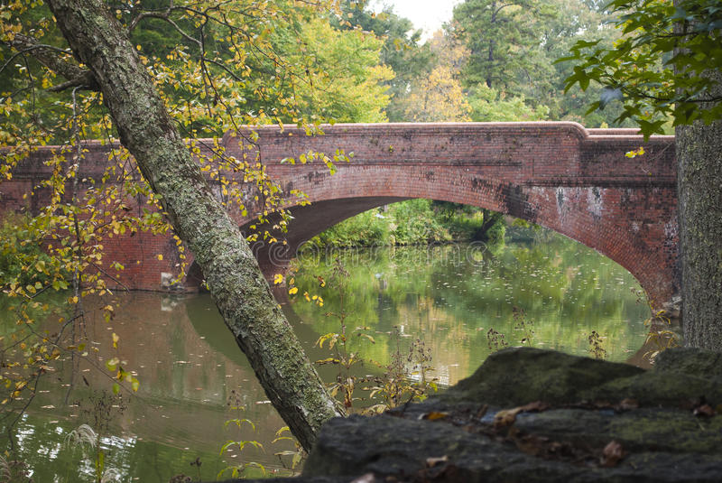 Asheville, North Carolina-Brücke stockfoto