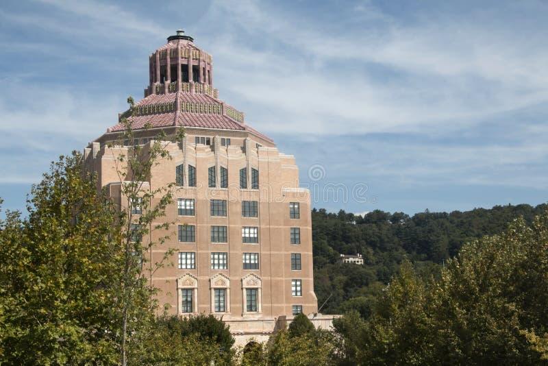 Asheville, North Carolina City Hall royalty free stock photography