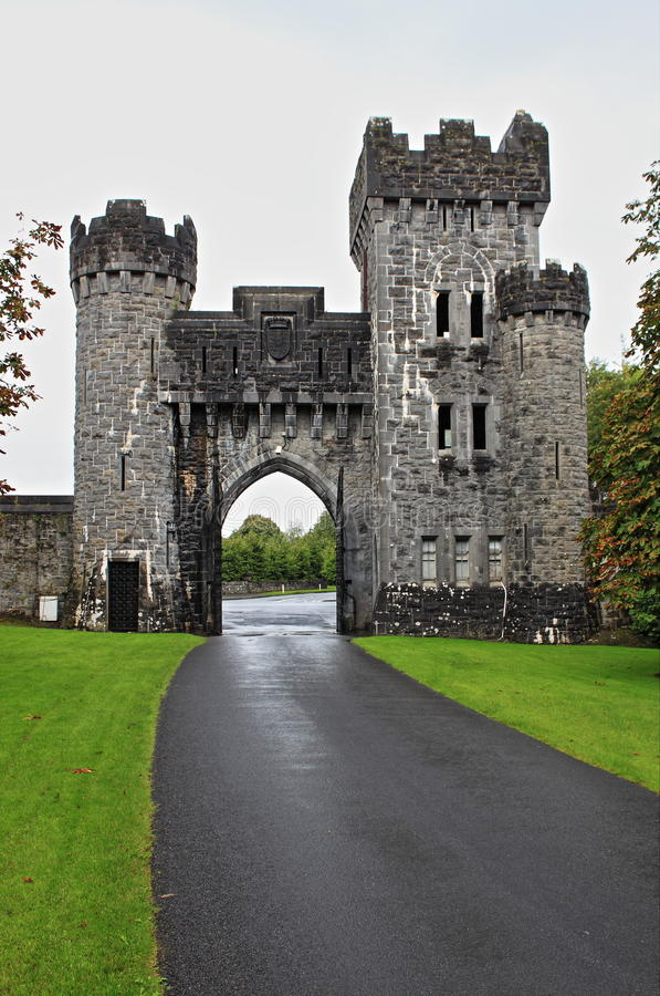 Ashford castle royalty free stock photo