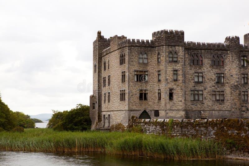 Ashford Castle in Mayo stock photo