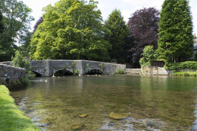 Ashford in het water royalty-vrije stock afbeeldingen