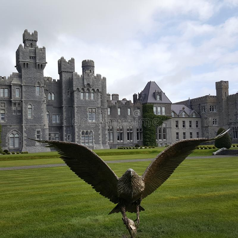 Ashford-Schloss, Galway Irland lizenzfreies stockbild