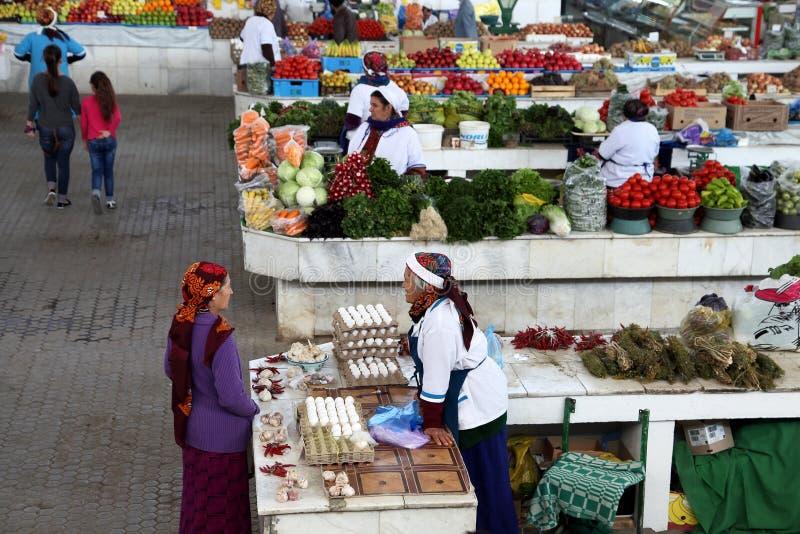 Ashgabad, Turkmenistan - Oktober 10, 2014 Vierkante samenstelling royalty-vrije stock fotografie
