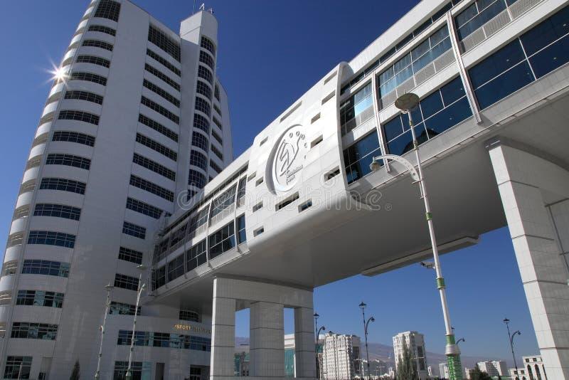 Ashgabat, Τουρκμενιστάν - 23 Οκτωβρίου 2014: Μέρος του σύνθετου - στοκ φωτογραφίες με δικαίωμα ελεύθερης χρήσης