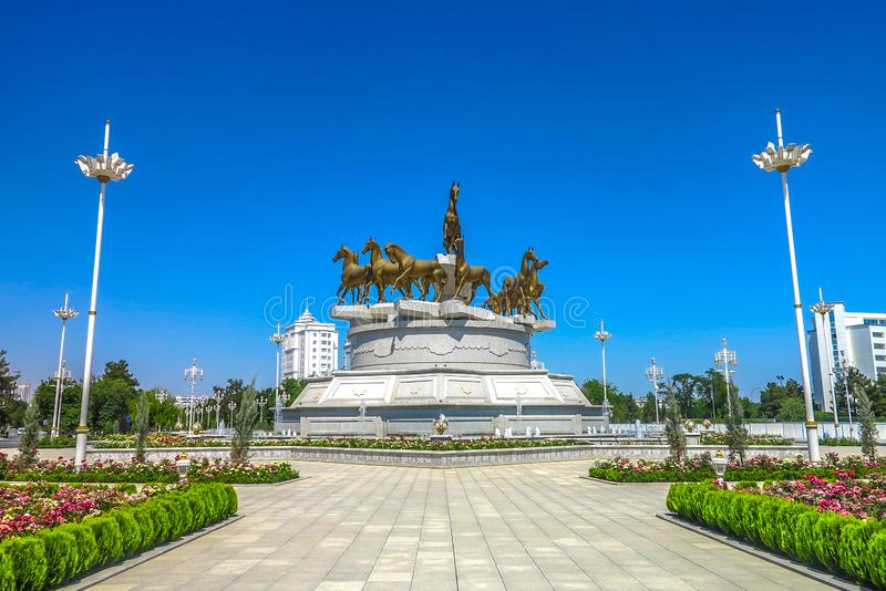 Ashgabat Turkmenistan Akhal Teke 03 royalty free stock image