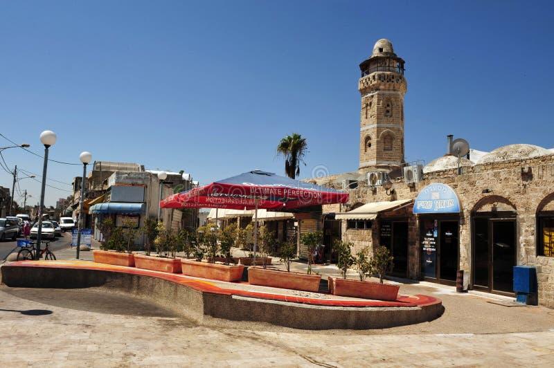 Ashkelon都市风景以色列 图库摄影