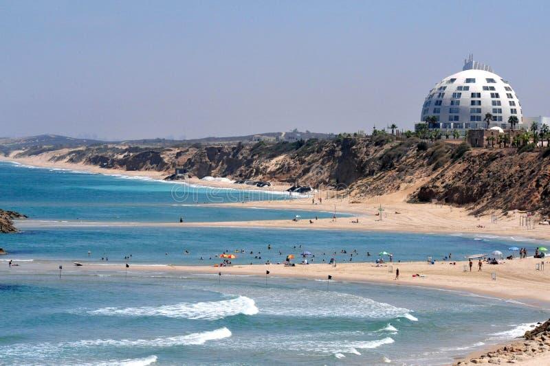 Ashkelon - Israël stock afbeeldingen