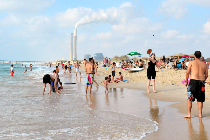 Ashkelon - Israel fotografia de stock royalty free
