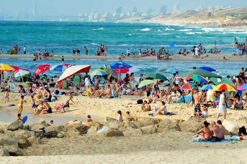 Ashkelon - Israel lizenzfreie stockbilder