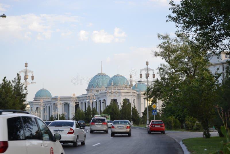 Ashkhabad Turkmenistan tussen haakjes royalty-vrije stock foto's