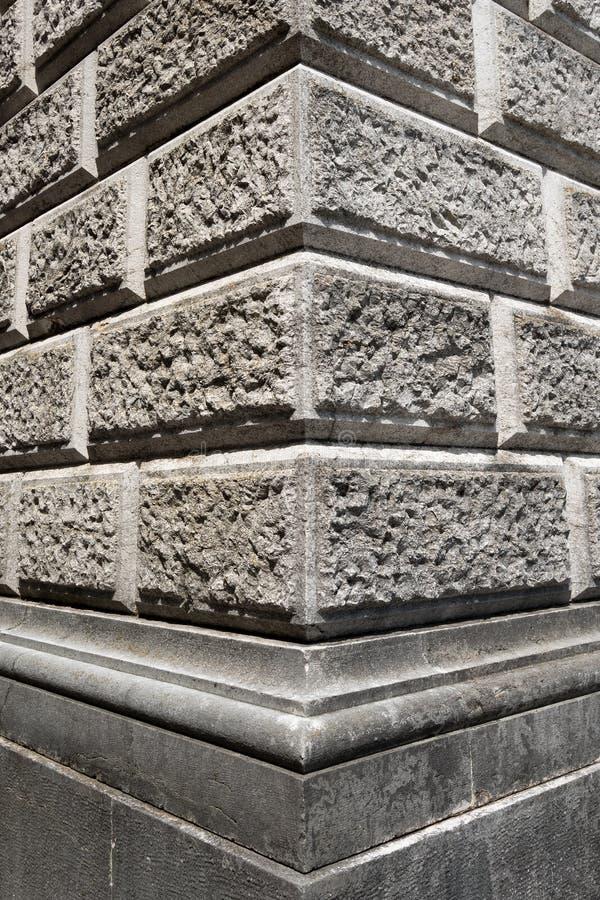 Ashlar ściana robić Siwiałem kamień zdjęcia royalty free