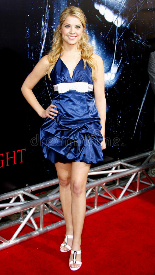 Ashley Benson. Attends the World Premiere of Prom Night held at the ArcLight Theater in Hollywood, California, United States on April 9, 2008 royalty free stock photos