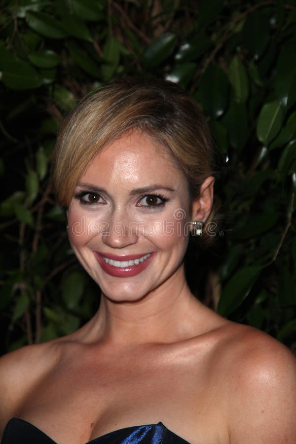 Ashley Jones. At the QVC Red Carpet Style Party, Four Seasons Hotel, Los Angeles, CA. 02-25-11 stock photography