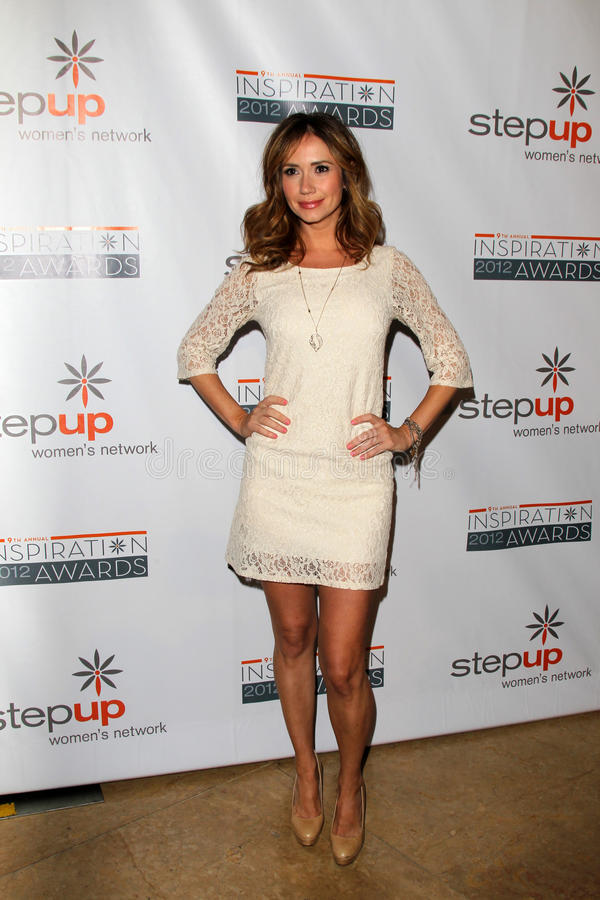 Download Ashley Jones Arriving At StepUp Women's Network Inspiration Awards Editorial Photography - Image: 25685842