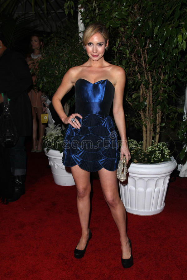 Ashley Jones. At the QVC Red Carpet Style Party, Four Seasons Hotel, Los Angeles, CA. 02-25-11 stock photos