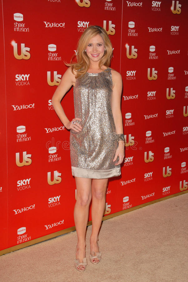 Ashley Jones. At the Us Weekly Hot Hollywood Style 2009 party, Voyeur, West Hollywood, CA. 11-18-09 royalty free stock photo
