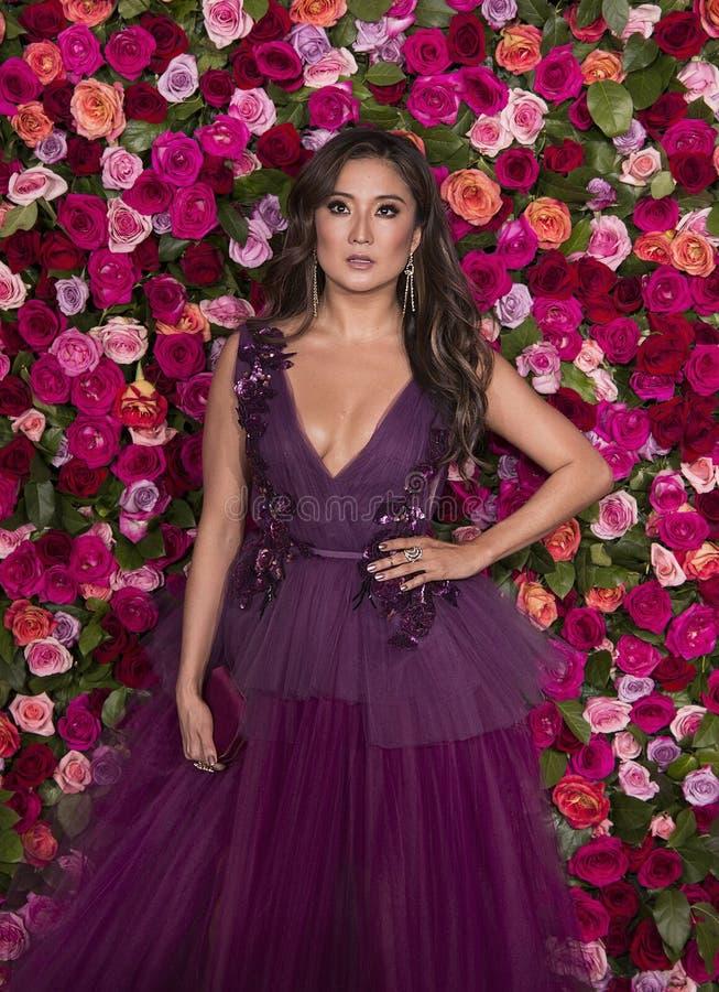 Ashley Park a Tony Awards 2018 fotografia stock