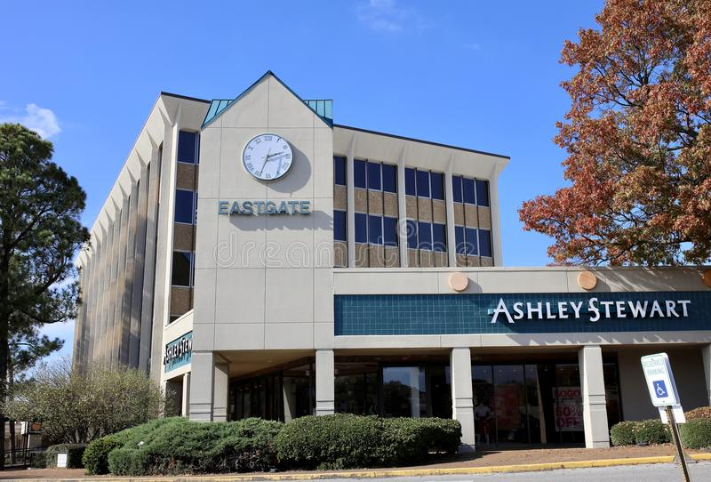 Ashley Stewart Plus Size Clothing Store. Ashley Stewart Clothing Plus size sells beautiful apparel for women size 10 and over stock images