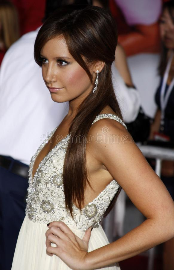 Ashley Tisdale royalty-vrije stock afbeelding