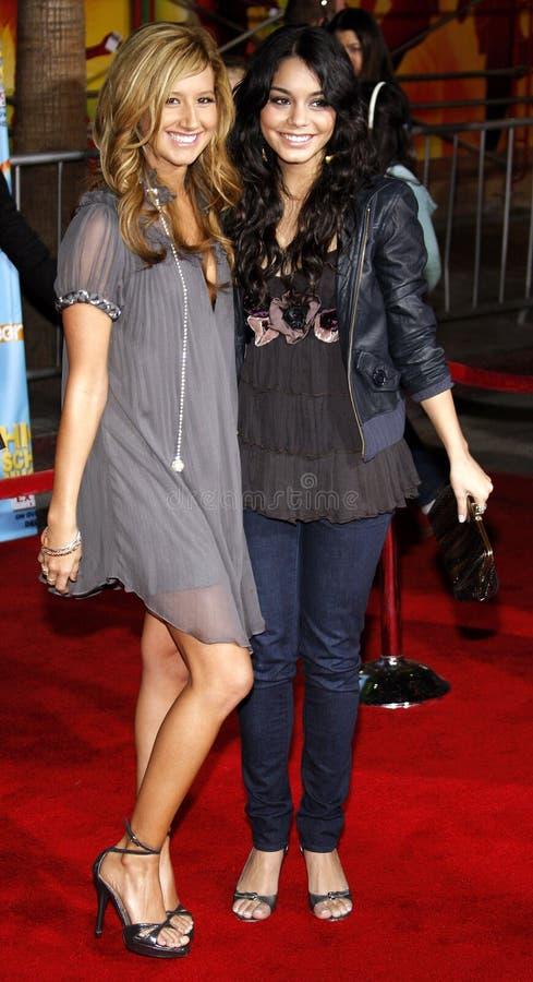 Ashley Tisdale Hudgens i Vanessa fotografia royalty free
