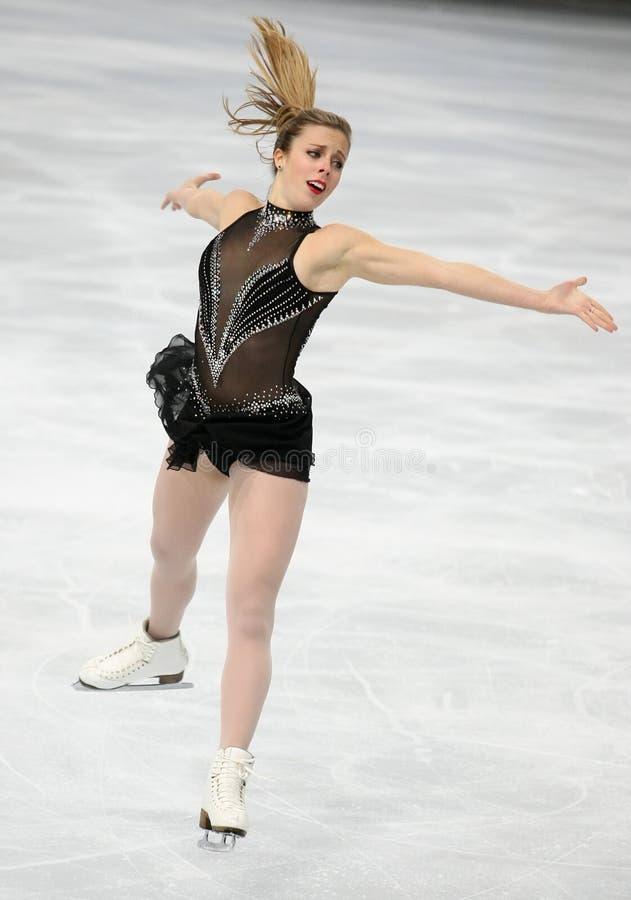 Ashley WAGNER (de V.S.) stock afbeelding