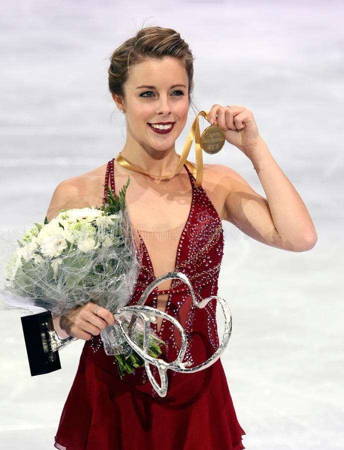 Ashley Wagner (S immagine stock