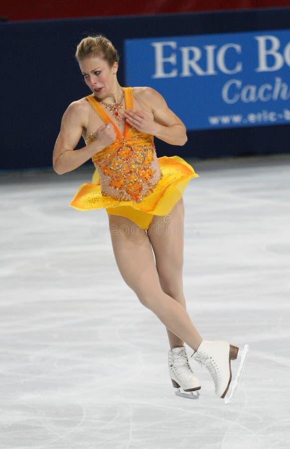 Ashley Wagner (USA) zdjęcie stock