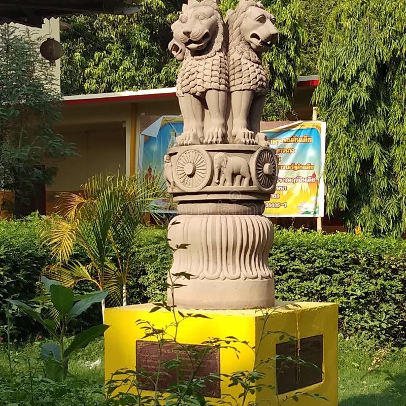 Ashoka Chakra lizenzfreie stockbilder