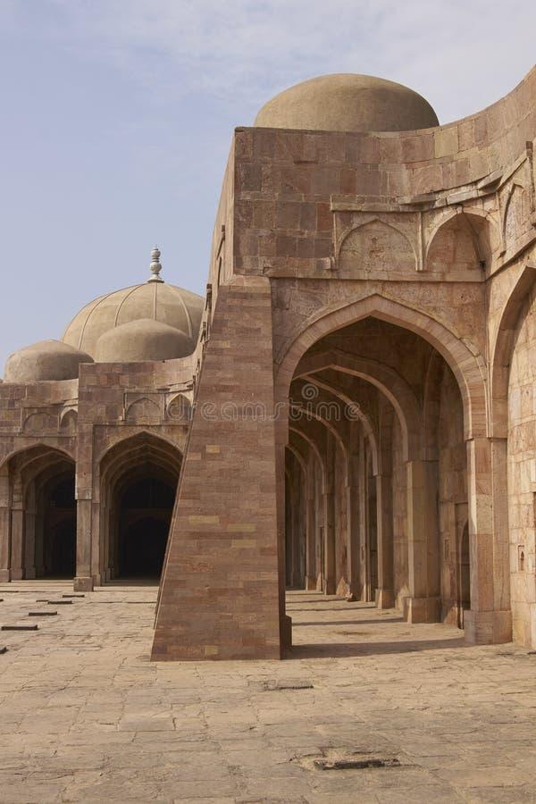 Ashrafi玛哈尔清真寺在Mandu,印度 免版税库存图片