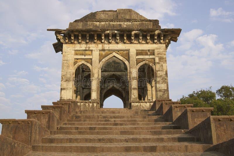 Ashrafi Mahal w Mandu, India zdjęcie royalty free