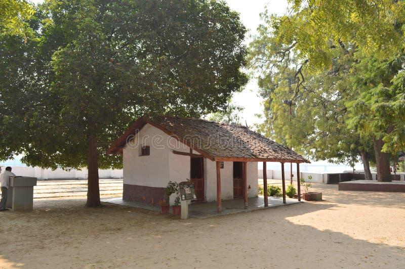 Ashram de Gandhi, Ahmedabad image stock