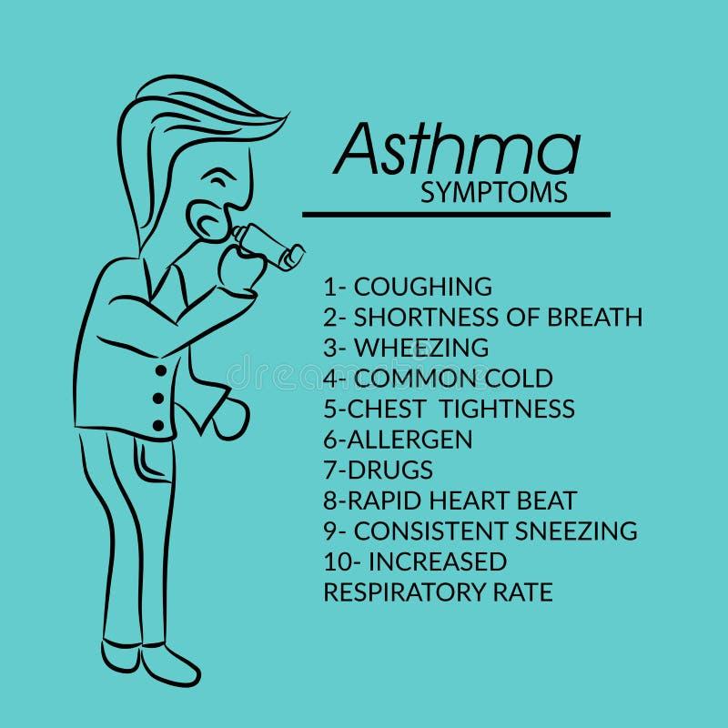 Ashtma day. Vector illustration of ashtma day vector illustration