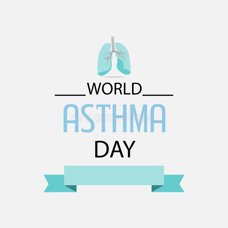 Ashtma day. Vector illustration of ashtma day stock illustration