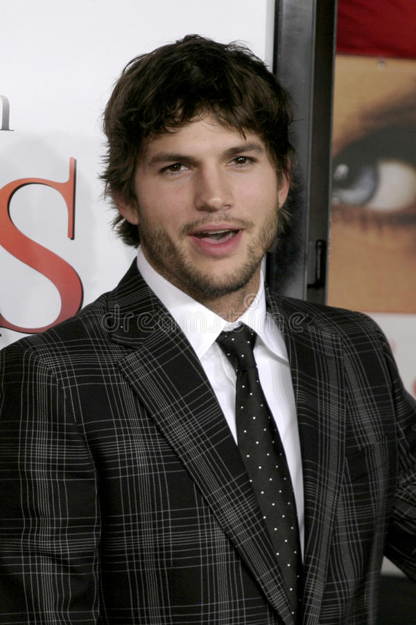 Ashton Kutcher. What Happens in Vegas World Premiere Mann's Village Theater Westwood, CA May 1, 2008 2008 Kathy Hutchins / Hutchins Photo stock image