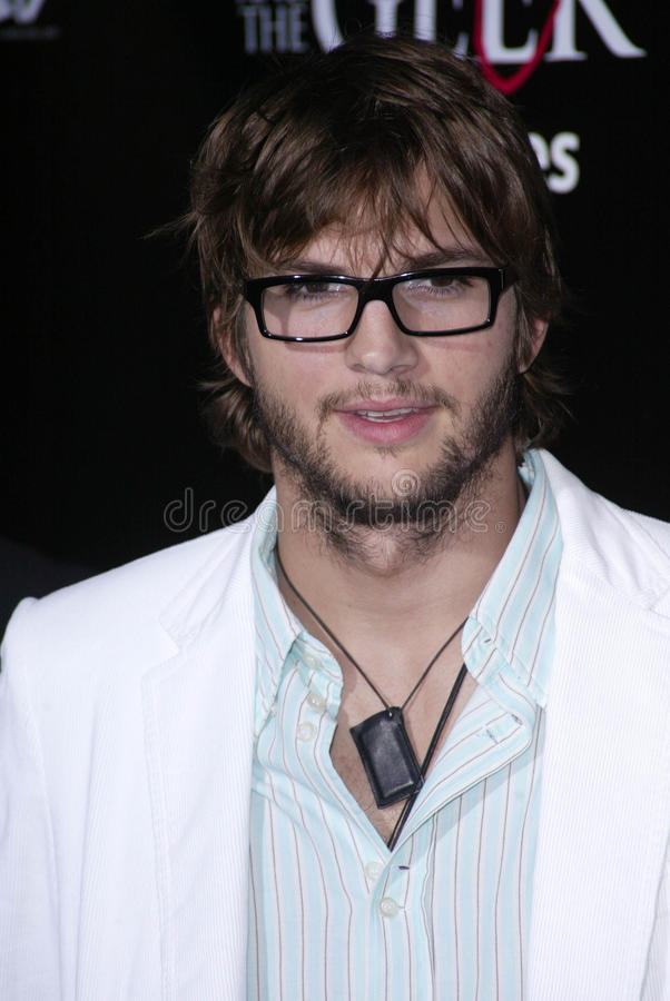 Ashton Kutcher στοκ εικόνες