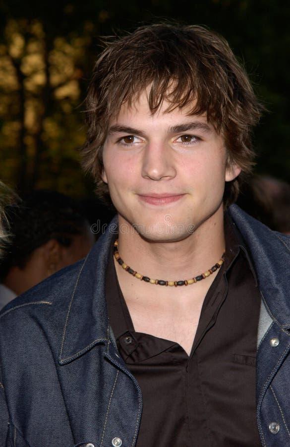Ashton Kutcher imagem de stock royalty free