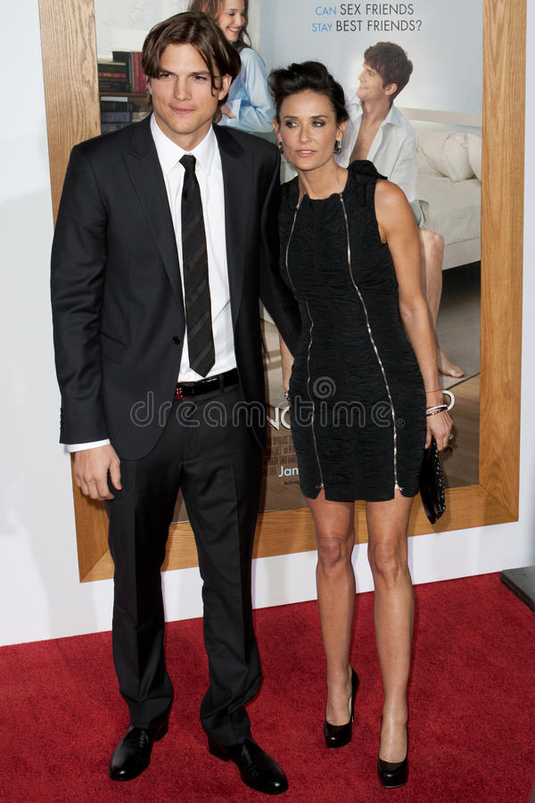 Download Ashton Kutcher & Demi Moore Editorial Stock Image - Image: 26834204