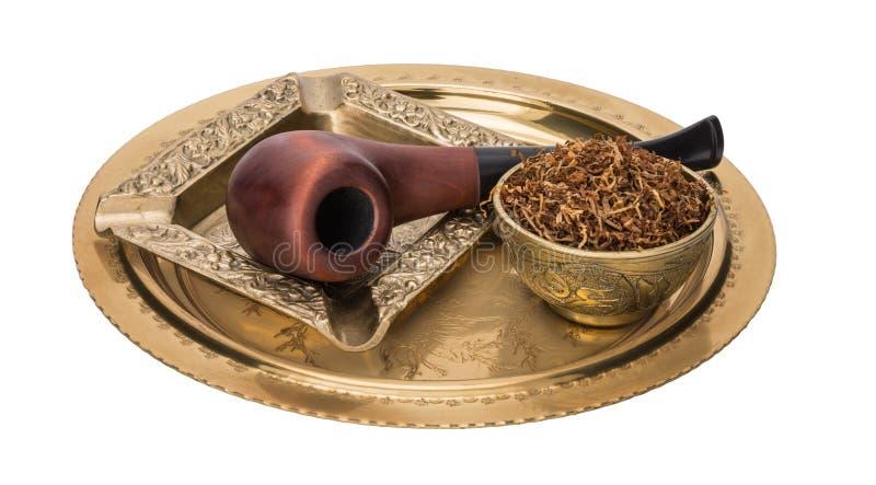 Ashtray καπνών σωλήνων δίσκος στοκ εικόνες