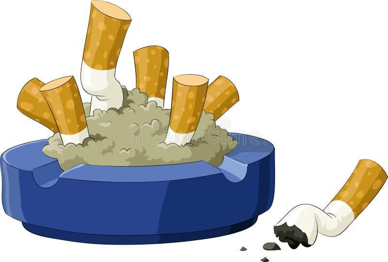 ashtray ilustracja wektor