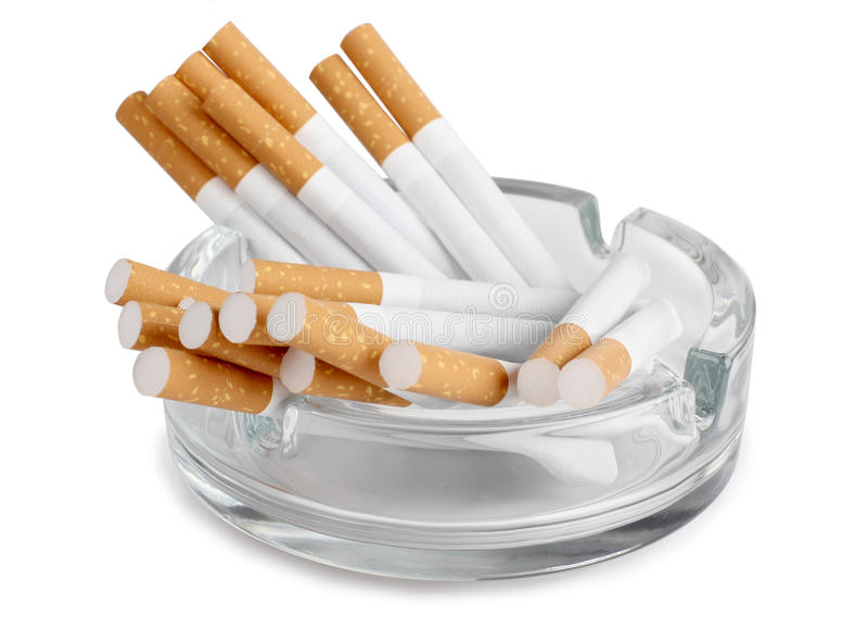 ashtray στοκ εικόνα με δικαίωμα ελεύθερης χρήσης