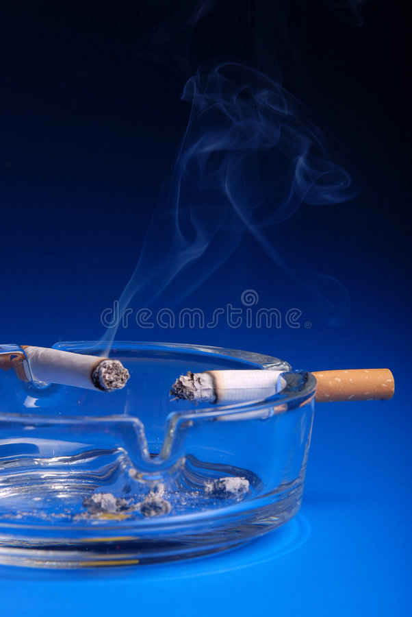 Ashtray stock photography