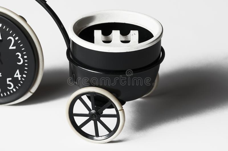 Ashtray in the form of a bicycle isolated on a white background.Copy space. Ashtray in the form of a bicycle isolated on a white background menthol clipping bad royalty free stock image