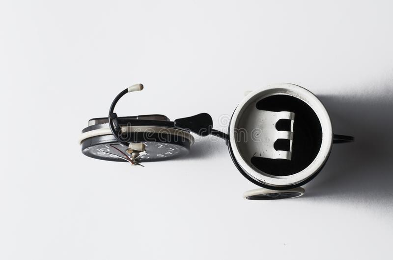 Ashtray in the form of a bicycle isolated on a white background.Copy space. Ashtray in the form of a bicycle isolated on a white background menthol clipping bad stock photography
