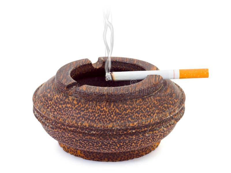 ashtray papieros obraz royalty free