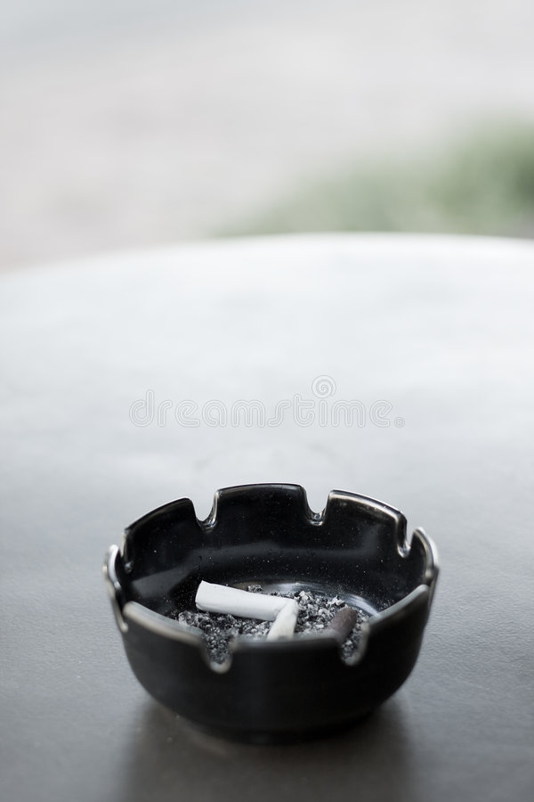 Download Ashtray On Table stock image. Image of smelly, ashtray - 5339161