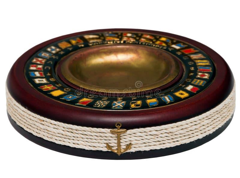 ashtray wysokości odosobniona ilość drewniana zdjęcia royalty free